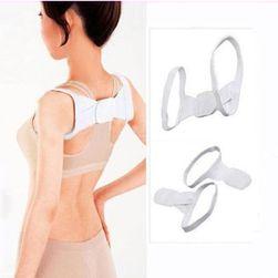 Wsparcie pleców dla lepszego trzymania ciała - białe