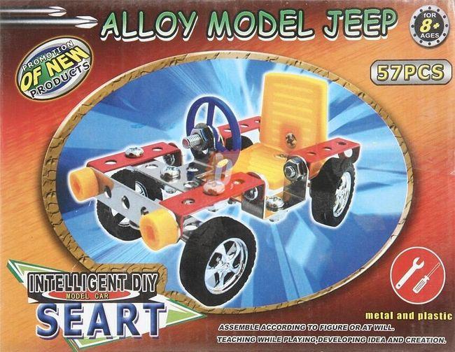 Stavebnice modelu auta typu Jeepu 1