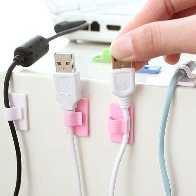 Set de 8 organizatoare de cabluri 1