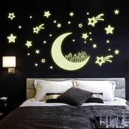 Svetleća naljepnica za zid - Zvjezdano nebo