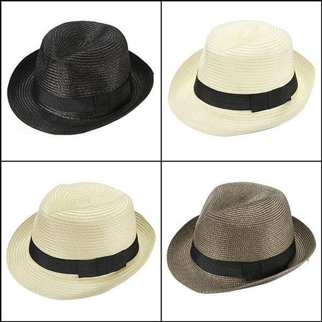 Модная соломенная шляпа унисекс 1