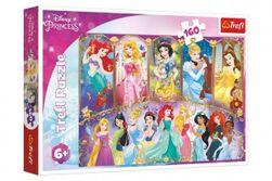 Puzzle Portréty princezien Disney 41x27,5cm 160 dielikov v krabici 29x19x4cm RM_89015407