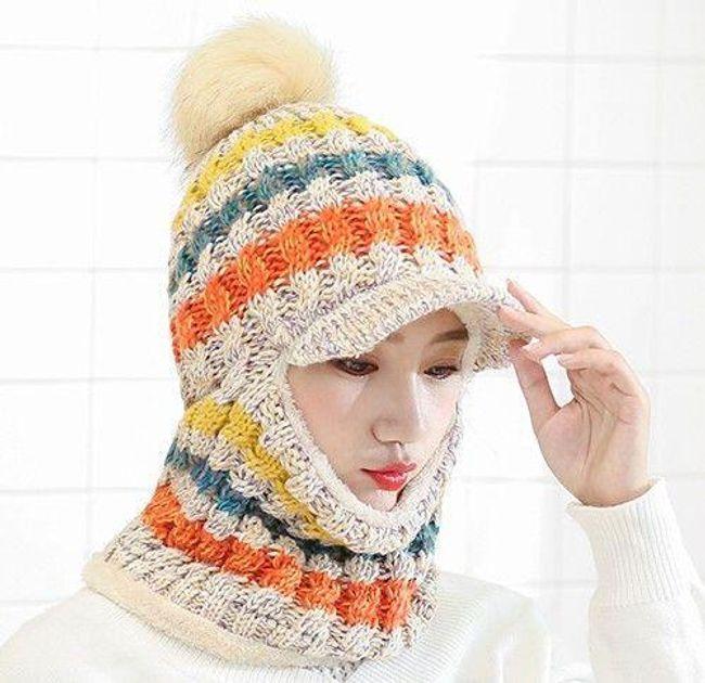 Bayan kış şapkası B05014 1
