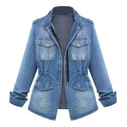 Женская джинсовая куртка Beatte