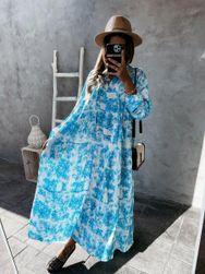 Ženska haljina sa dugim rukavima EA_649623950697