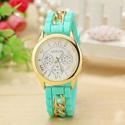 Часовник със силиконова гривна