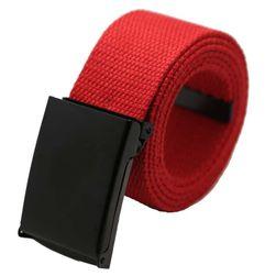 Unisex pásek s černou přezkou - 10 variant
