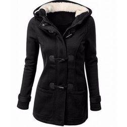 Dámská mikina Bella ve stylu kabátu s knoflíky