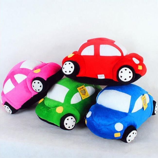 Мягкая игрушка, Машинка- 6 цветов 1