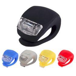 Uniwersalna lampka LED na rower - kilka kolorów