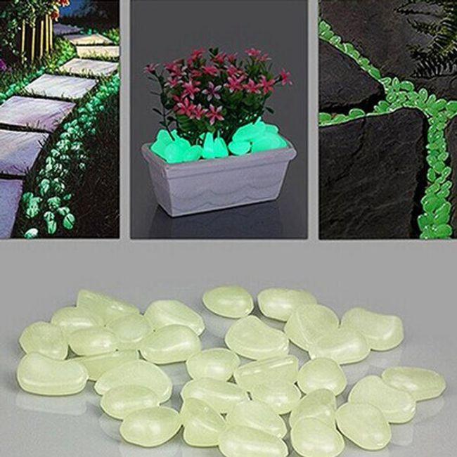 Флуоресцентни декоративни камъчета 1