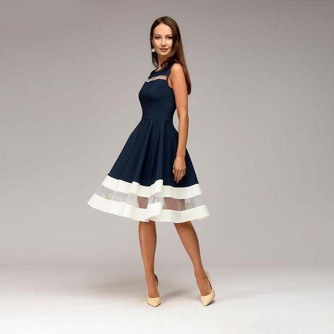 Dámské šaty Lalla - Modrá-S 1