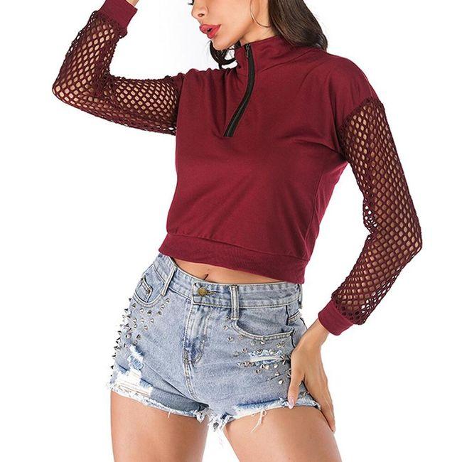 Női crop pulóver TF5820