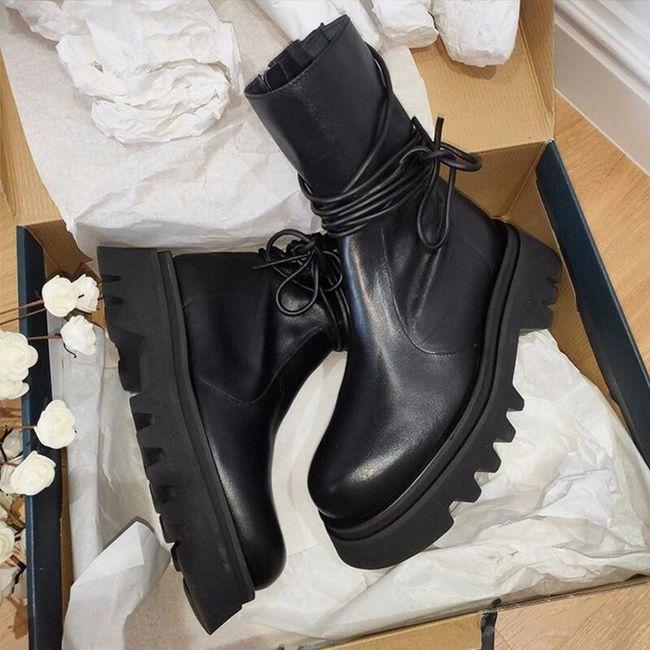 Damskie buty do kostki TF9314 1