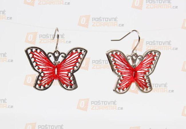 Fülbevaló pillangó formájában  1
