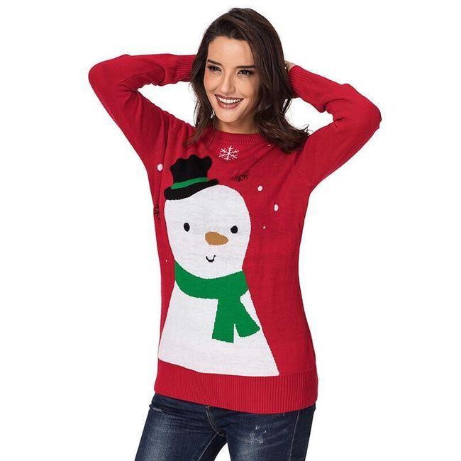 Karácsonyi pulóver Alannis
