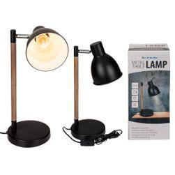 Črna namizna svetilka PD_1619935