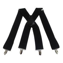 Bretele pentru bărbați - negru