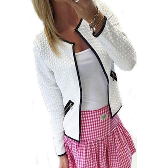 Elegantna spomladanska jakna - 3 barve 1