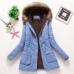 Bayan kışlık ceket Jane Açık mavi-beden L/XL