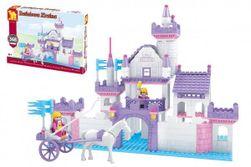 Stavebnica Dromader hrad pre dievčatá 368 dielikov v krabici 38x28x6cm RM_23224703