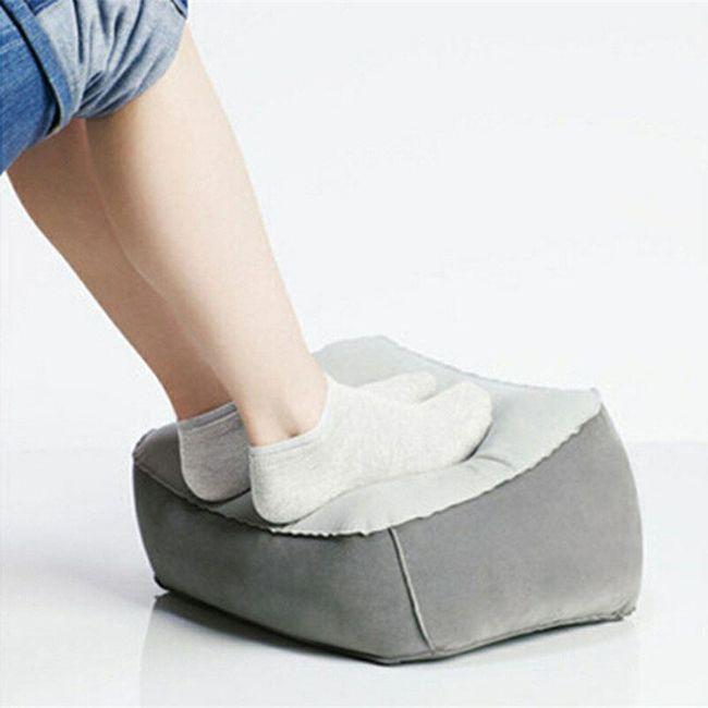Přenosná opěrka na nohy - 2 barvy 1