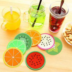 Barevné podtácky - ovoce