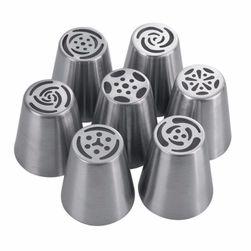Набор декоративных насадок для кондитерских шприцов 7 шт.