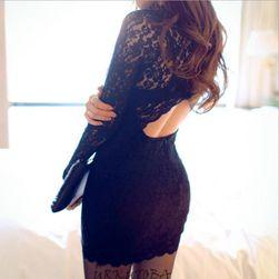 Damska sukienka z długimi rękawami Ambra
