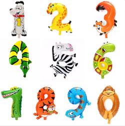 Balon na naduvavanje u obliku životinje - Brojevi