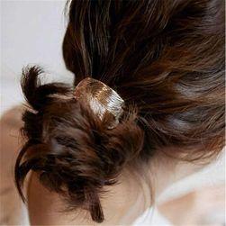 Elastic cu frunză pentru păr