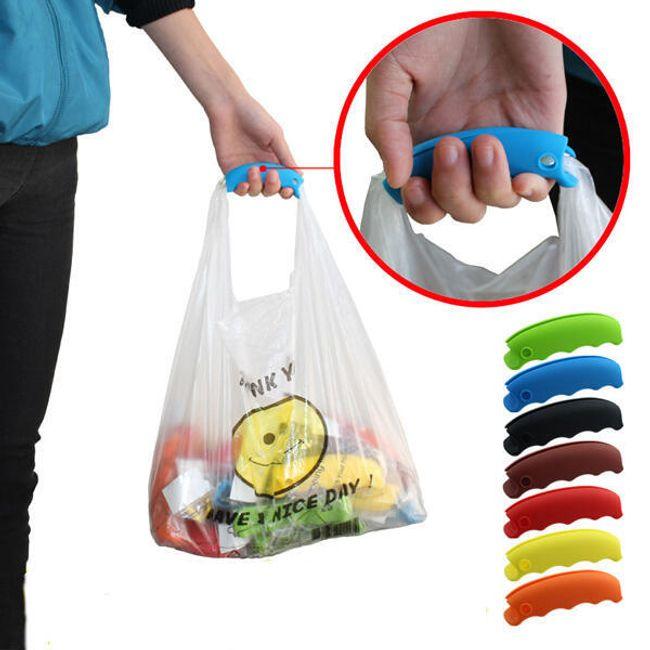 Silikonski ročaj za nakupovalne vrečke 1