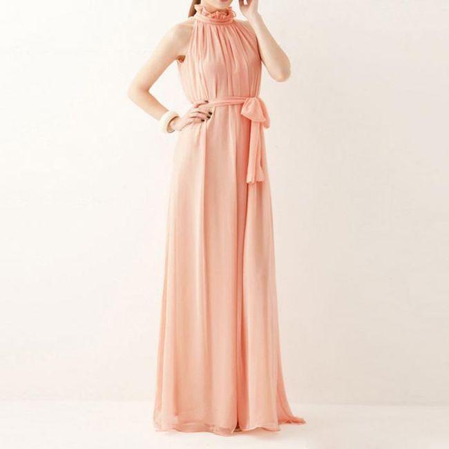 Boemska ženska dolga obleka - 8 barv 1