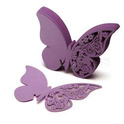 50 db pillangók - Címkék esküvőre