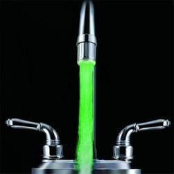 LED perlátor indikující teplotu vody změnou barvy