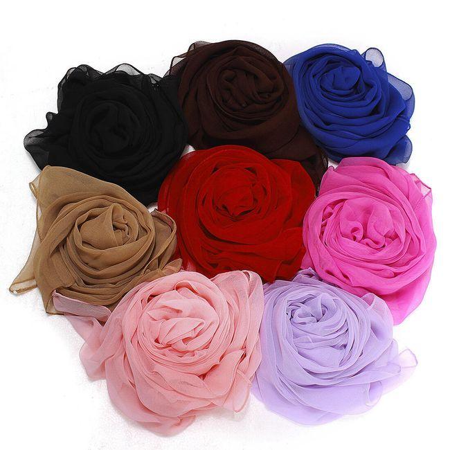 Dámská módní šála v 7 barvách 1