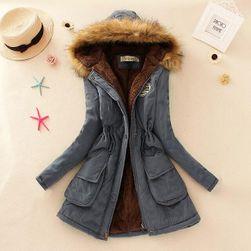 Bayan kışlık ceket Jane Gri-beden XL/ XL
