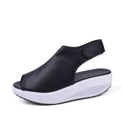 Sandale na visoku platformu - 4 boje