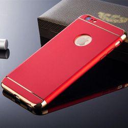 Роскошный жёсткий чехол для разных типов iPhone - 5 цветов Красный-для 6 6s