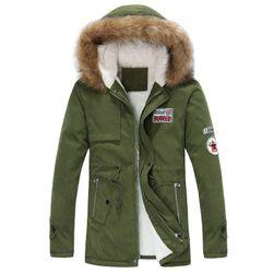 Мужская утепленная куртка Calvin