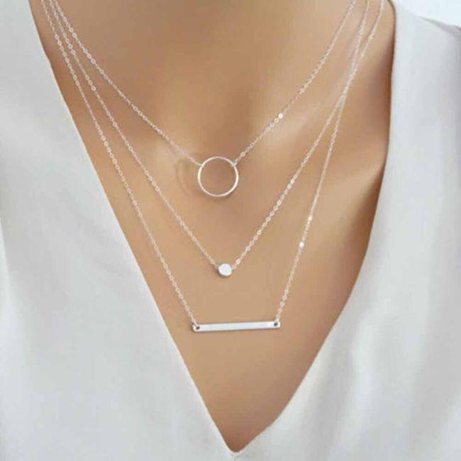 Dámsky náhrdelník H07 1