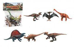 Dinozaur plastikowy 14-19cm 6szt w torbie RM_00850133