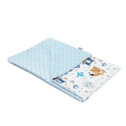 Dětská deka z Minky  Medvídci 80x102 cm RW_deka-med-mod