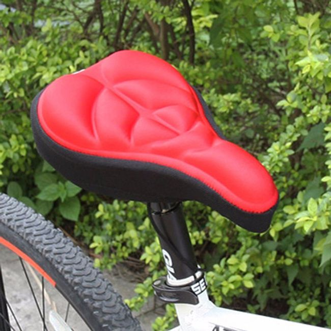 Pohodlný povlak na cyklistické sedlo 1