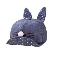 Șapcă pentru copii cu urechi de iepuraș - 4 culori