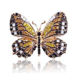 Brož - barevný motýlek
