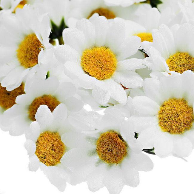 100 umetnih cvetov v obliki ivanjščic 1