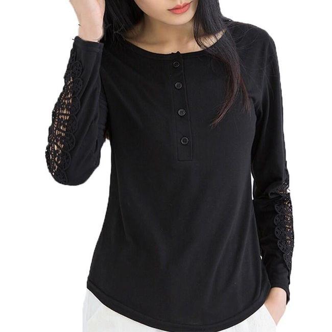 Dámské tričko s dlouhým rukávem Raquel 1