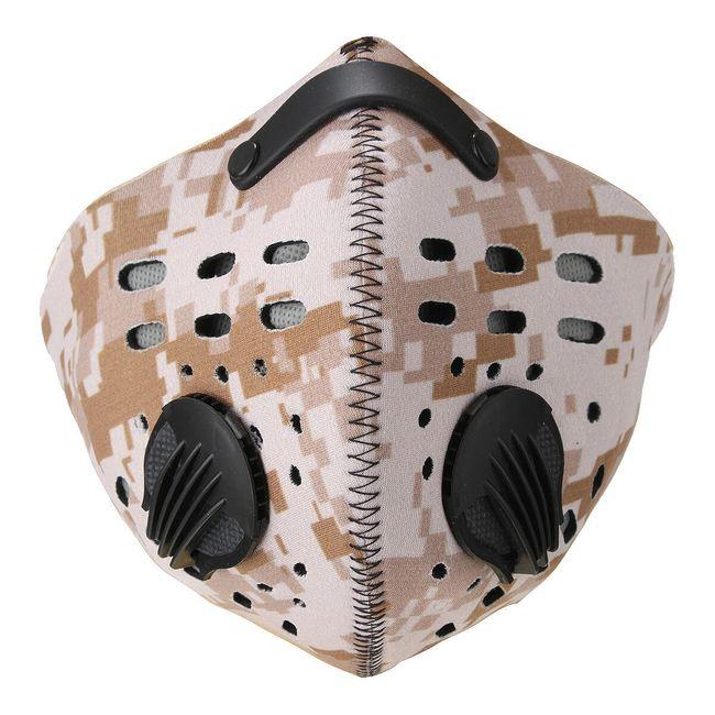 Maska na outdoorové aktivity proti prachu 1
