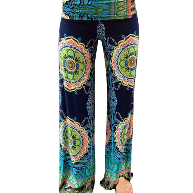 Volné kalhoty pro dámy - velikost č. 2 1